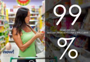 Store off line: ancora il riferimento per il 99% degli italiani