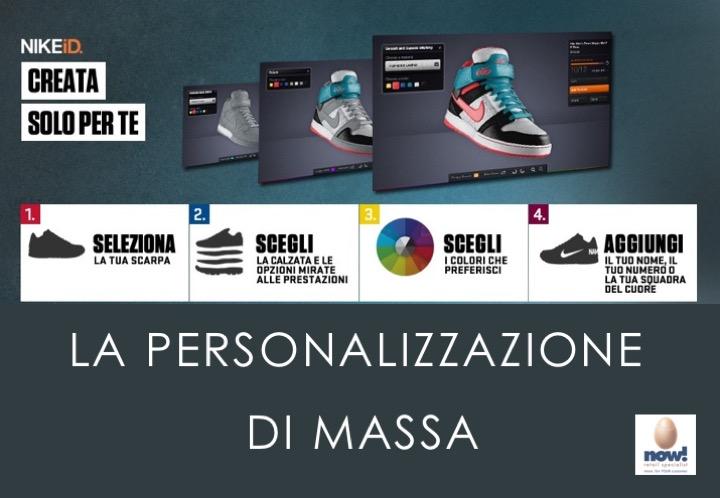 finest selection f389d b3728 La personalizzazione di massa