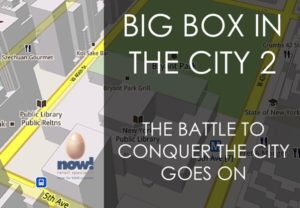 The battle to conquer the city goes on