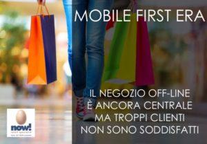 Mobile first era: Il negozio off-line è ancora centrale