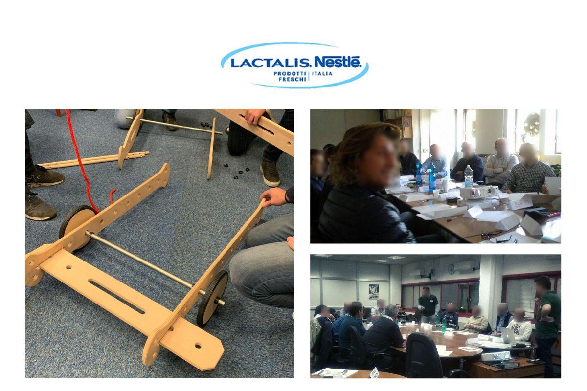 Progetto di formazione blended per Gruppo Lactalis Italia