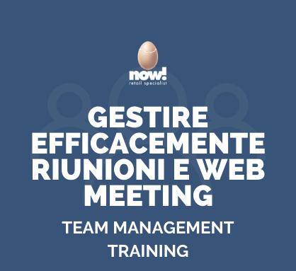 GESTIRE WEB MEETING